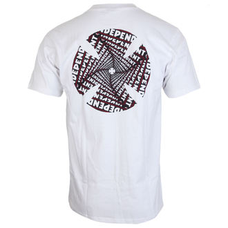 t-shirt street men's - Spiral White - INDEPENDENT, INDEPENDENT