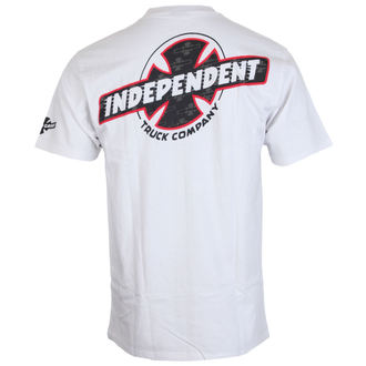 t-shirt street men's - Slant Btg Fill White - INDEPENDENT, INDEPENDENT