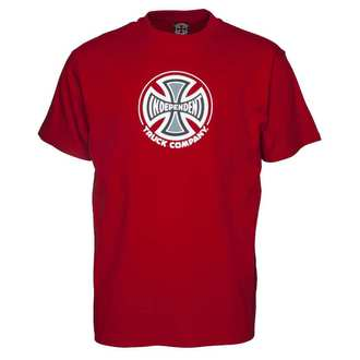 t-shirt street men's - Truck Co Cardinal Red - INDEPENDENT, INDEPENDENT