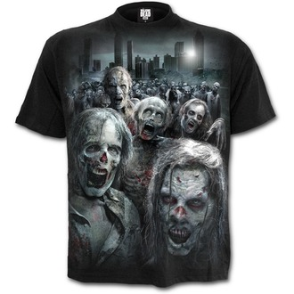 film t-shirt men's The Walking Dead - ZOMBIE HORDE - SPIRAL, SPIRAL
