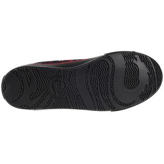 high sneakers men's - DEATH BONES - SPIRAL