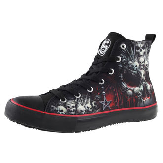 high sneakers men's - DEATH BONES - SPIRAL, SPIRAL
