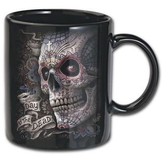 Mugs (set of 21 mugsh) SPIRAL - DAY OF THE DEAD - K026A005