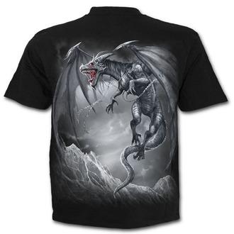 t-shirt men's - DRAGON'S CRY - SPIRAL - D074M101