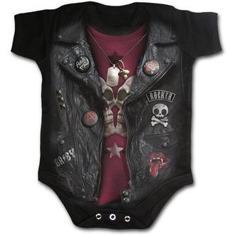 Bodysuit children's SPIRAL - BABY BIKER - Black, SPIRAL