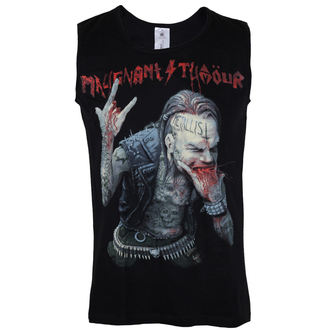 top men Malignant Tumour - The Frontcover BLACK - Red