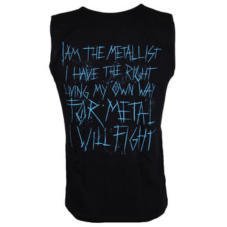 top men Malignant Tumour - The Metallist BLACK - Blue, Malignant Tumour