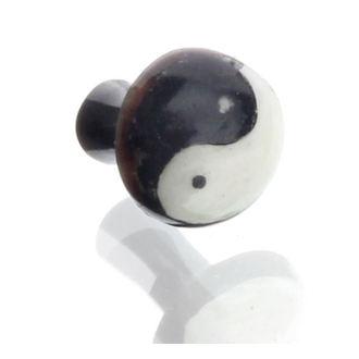 piercing jewel tunnel - 4mm