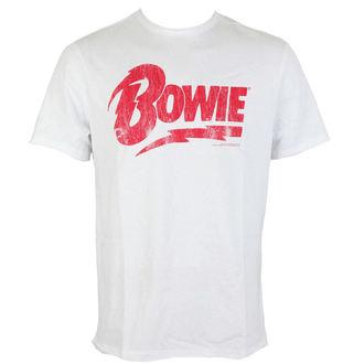 tričko pánské AMPLIFIED - DAVID BOWIE - LOGO, AMPLIFIED, David Bowie