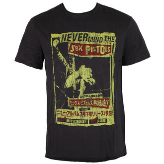 t-shirt metal men's Sex Pistols - SEX PISTOLS - AMPLIFIED, AMPLIFIED, Sex Pistols