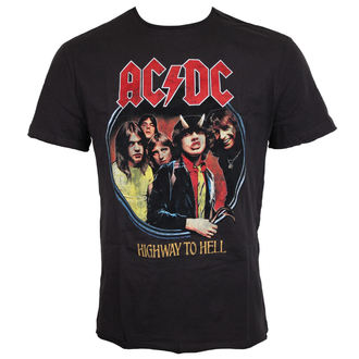 t-shirt metal men's AC-DC - ACDC - AMPLIFIED, AMPLIFIED, AC-DC