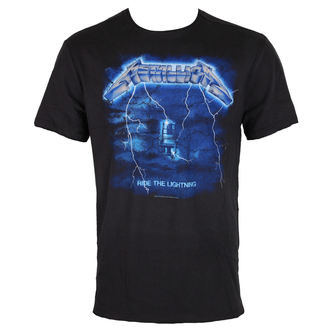t-shirt metal men's Metallica - METALLICA - AMPLIFIED, AMPLIFIED, Metallica