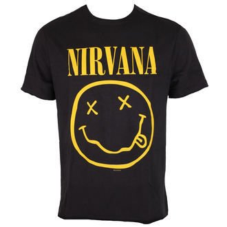 t-shirt metal men's Nirvana - NIRVANA - AMPLIFIED, AMPLIFIED, Nirvana