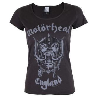 t-shirt metal women's Motörhead - MOTORHEAD - AMPLIFIED, AMPLIFIED, Motörhead
