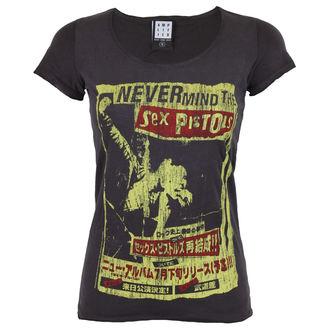 t-shirt metal women's Sex Pistols - SEX PISTOLS - AMPLIFIED, AMPLIFIED, Sex Pistols
