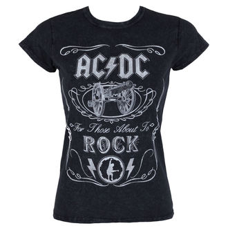t-shirt metal women's AC-DC - Cannon Swig - ROCK OFF, ROCK OFF, AC-DC