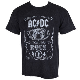 t-shirt metal men's AC-DC - Cannon Swig - ROCK OFF, ROCK OFF, AC-DC