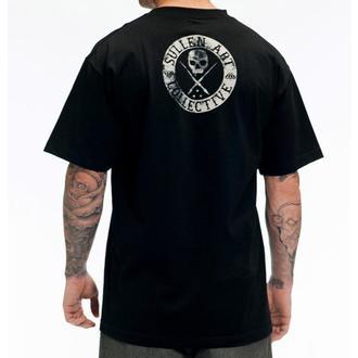 t-shirt hardcore men's - BADGE OF HONOR BLAQ - SULLEN - SCM0064_BK