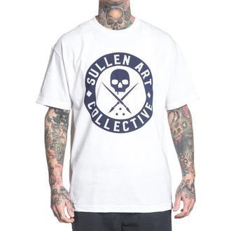t-shirt hardcore men's - BADGE OF HONOR HARBOR - SULLEN - SCM1020_WH