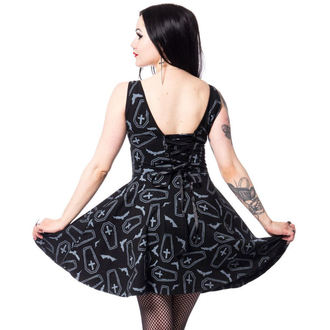 dress women Heartless - CRYPT - BLACK, HEARTLESS