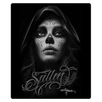 blanket SULLEN - DARK GREY QUEEN - BLACK, SULLEN