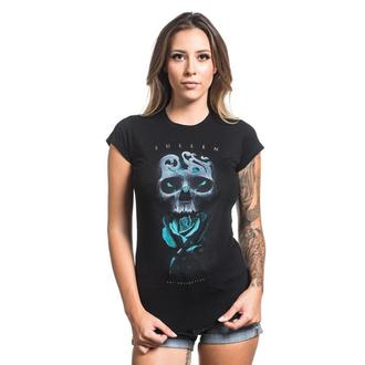 t-shirt women SULLEN - NEIL BADGE - BLACK, SULLEN