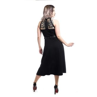 Dress women's Poizen industries - RAVETTE - BLACK, POIZEN INDUSTRIES
