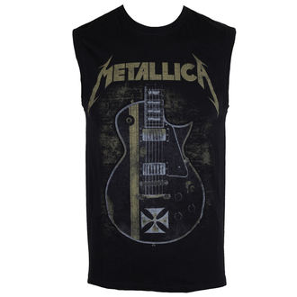 top men Metallica - Hetfield Iron Cross - Black - RTMTLVEBHET