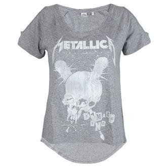 t-shirt metal women's Metallica - Damage Inc Drop Shoulder -, Metallica