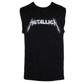 top men Metallica - Spiked Logo - Black, Metallica