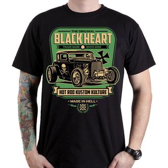 t-shirt street men's - UNITED - BLACK HEART, BLACK HEART
