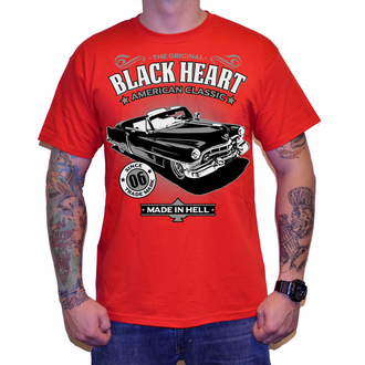 t-shirt street men's - CADILLAC - BLACK HEART, BLACK HEART