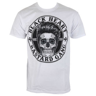 t-shirt street men's - BUSTER - BLACK HEART, BLACK HEART