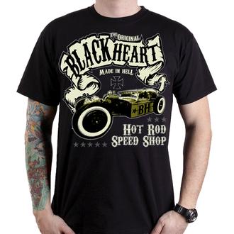 t-shirt street men's - BANDIT - BLACK HEART, BLACK HEART