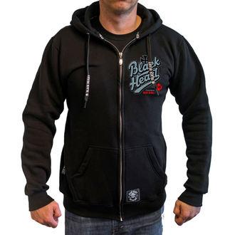 hoodie men's - REBECCA - BLACK HEART, BLACK HEART