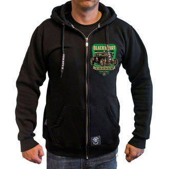hoodie men's - UNITED - BLACK HEART, BLACK HEART