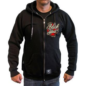 hoodie men's - HOT ROD ANGEL - BLACK HEART, BLACK HEART