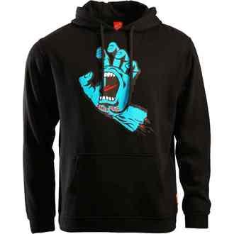 hoodie men's - Screaming Hand - SANTA CRUZ, SANTA CRUZ