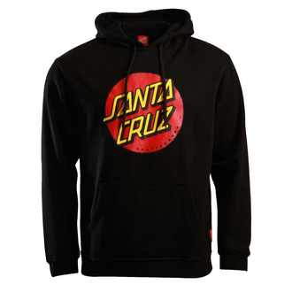 hoodie men's - Classic Dot - SANTA CRUZ - SCAHDY-950 BLACK