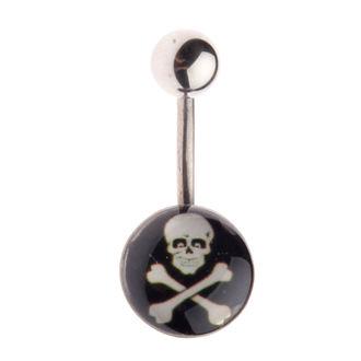 piercing jewel Skull - L-025