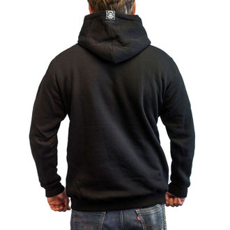 hoodie men's - RAT TRAP - BLACK HEART, BLACK HEART