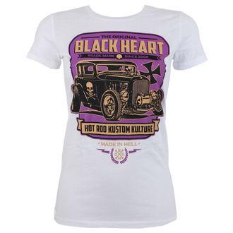 t-shirt street women's - UNITED - BLACK HEART - 010-0062-WHT