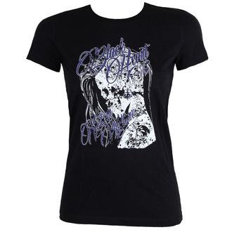 t-shirt street women's - PUNK - BLACK HEART, BLACK HEART