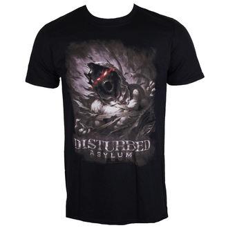 t-shirt metal men's Disturbed - Asylum - ROCK OFF, ROCK OFF, Disturbed