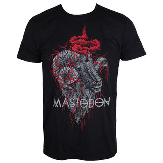 t-shirt metal men's Mastodon - Rams Head - ROCK OFF - MASTEE09MB