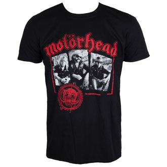 t-shirt metal men's Motörhead - Stamped - ROCK OFF, ROCK OFF, Motörhead