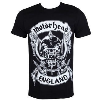t-shirt metal men's Motörhead - Crosses Sword England - ROCK OFF - MHEADTEE42MB