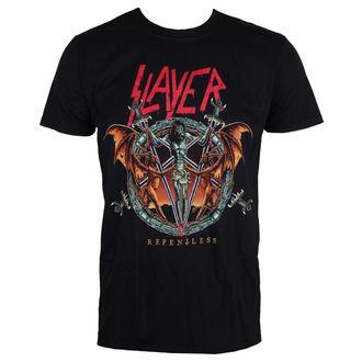 Metal T-Shirt men's Slayer - Demon Christ Repentless - ROCK OFF - SLAYTEE39MB