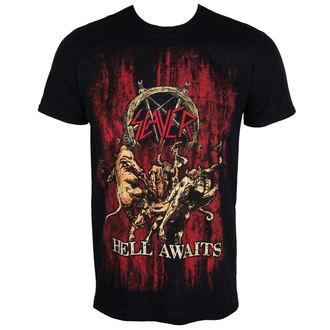 t-shirt metal men's Slayer - Hell Awaits - ROCK OFF, ROCK OFF, Slayer