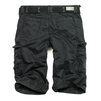 shorts men SURPLUS - ROYAL - BLACK - 07-5599-65